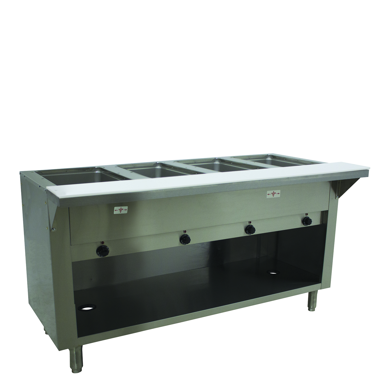 Advance Tabco HF-4E-120-BS serving counter, hot food, electric