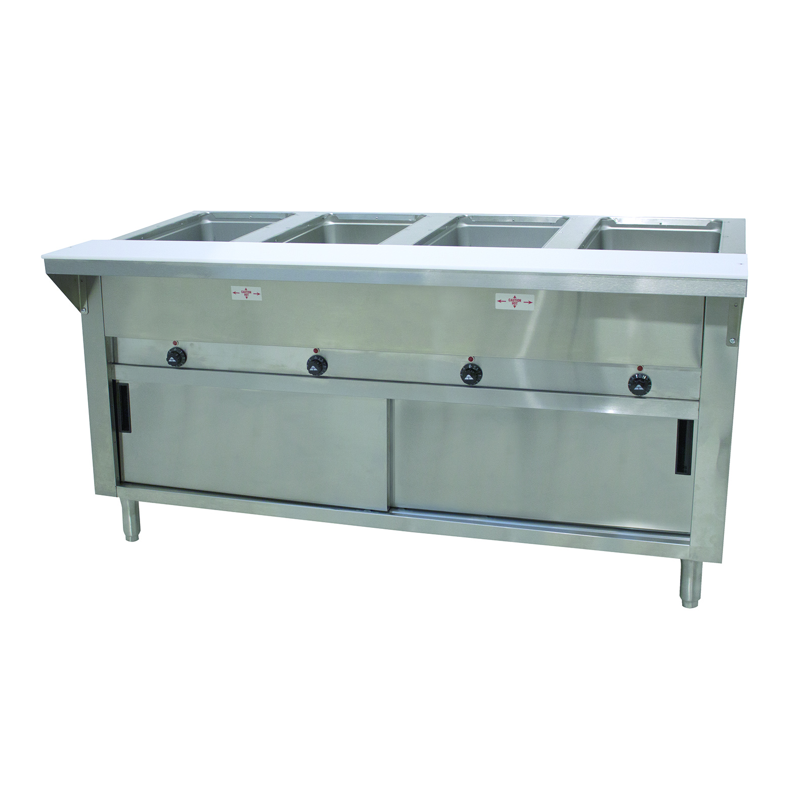 Advance Tabco HF-4E-120-DR serving counter, hot food, electric