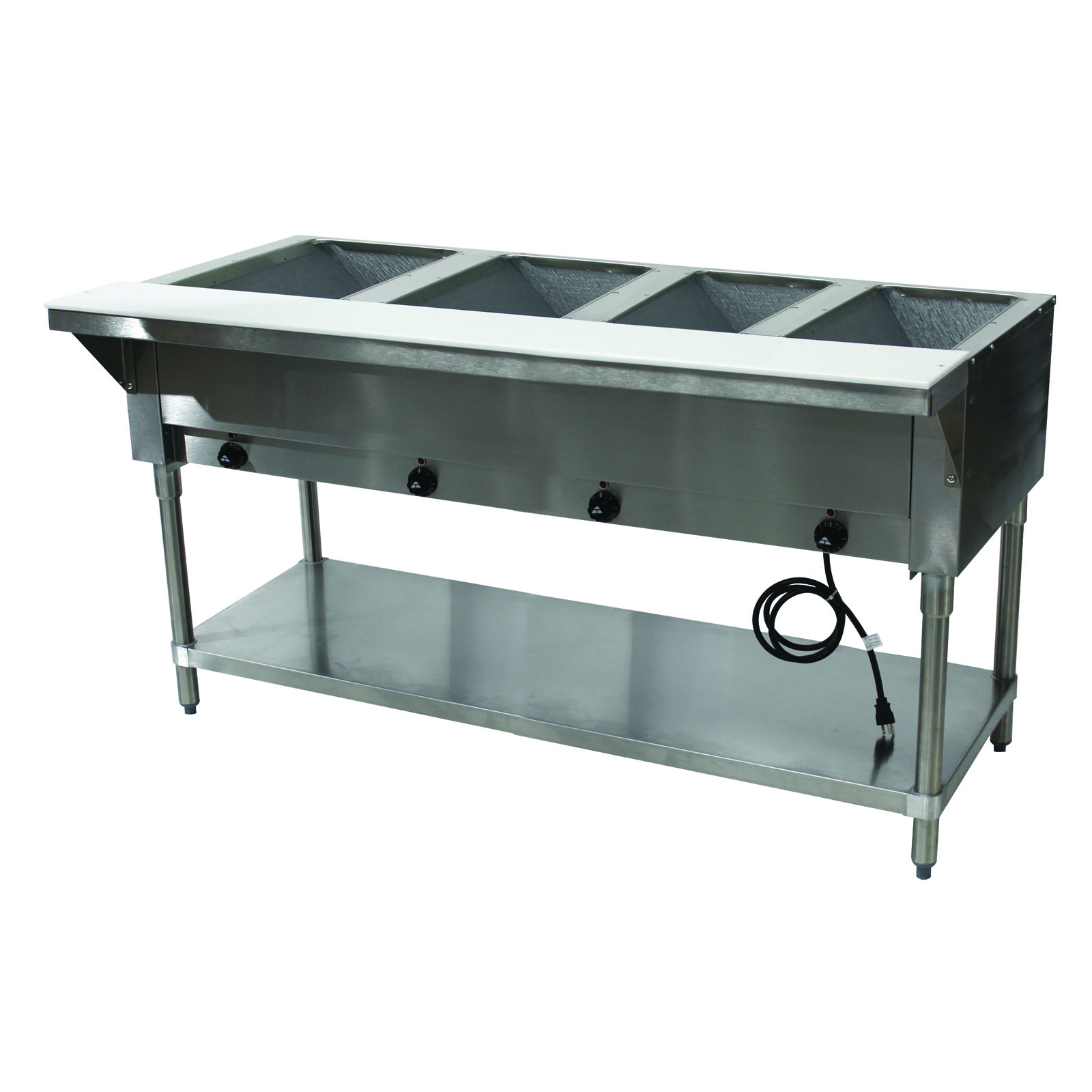 Advance Tabco HF-4E-240 serving counter, hot food, electric
