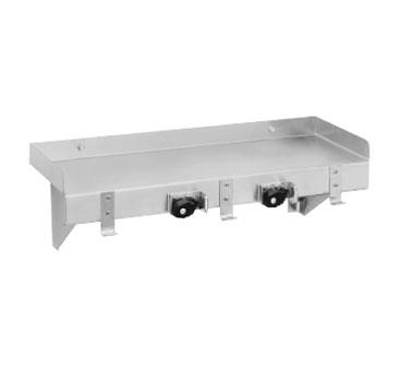 Advance Tabco K-245 shelving, wall mounted