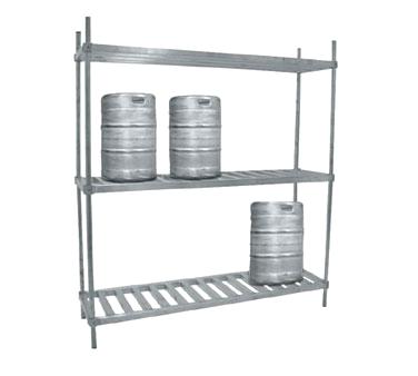 Advance Tabco KR-42 keg storage rack