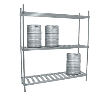 Advance Tabco KR-72 keg storage rack