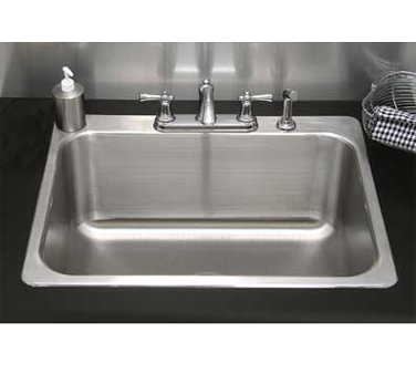 Advance Tabco LS-2418-14RE sink, drop-in