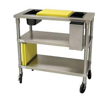 Advance Tabco MS-183-CS cart, prep