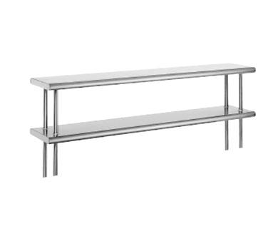 Advance Tabco ODS-12-108 overshelf, table-mounted