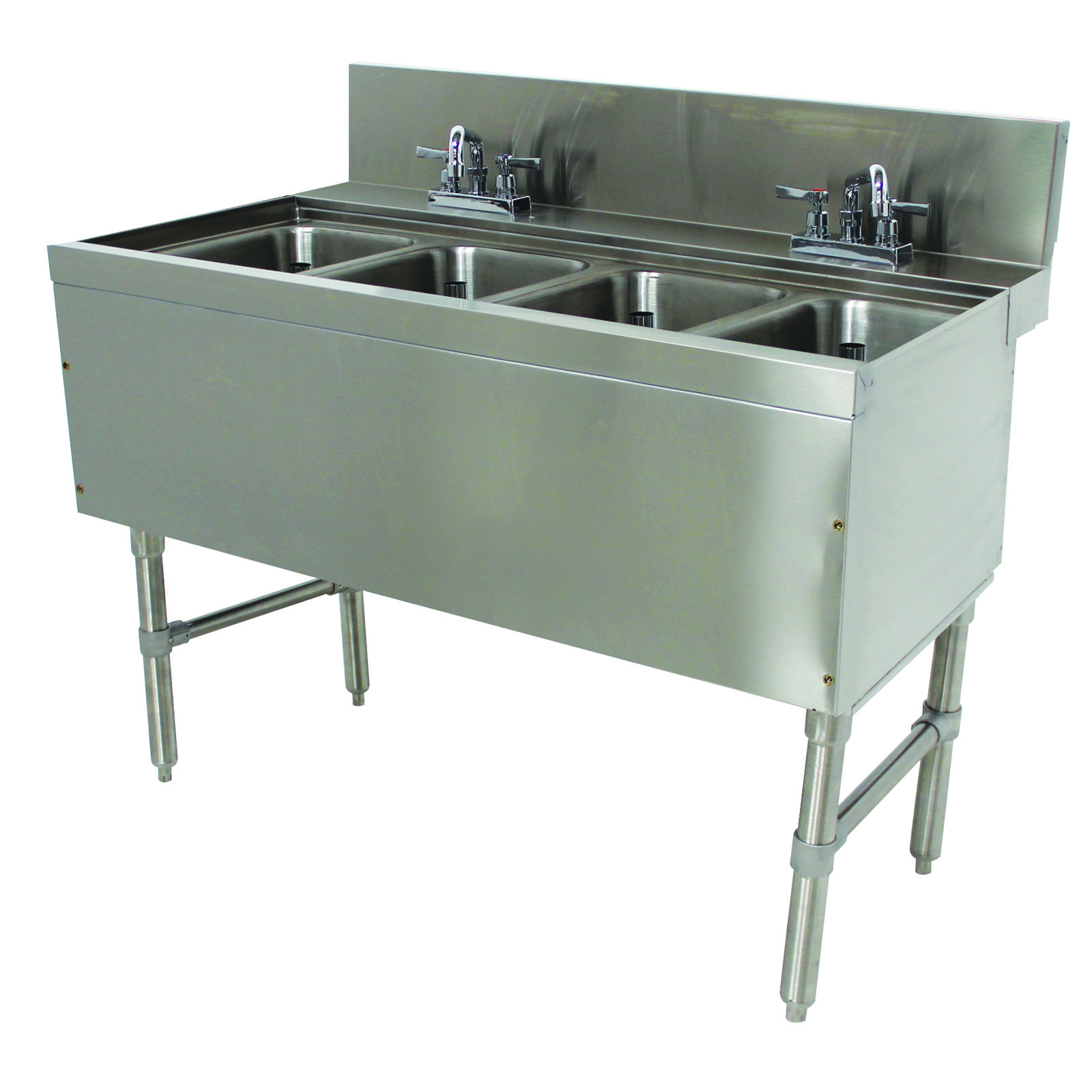 Advance Tabco PRB-24-44C underbar sink units