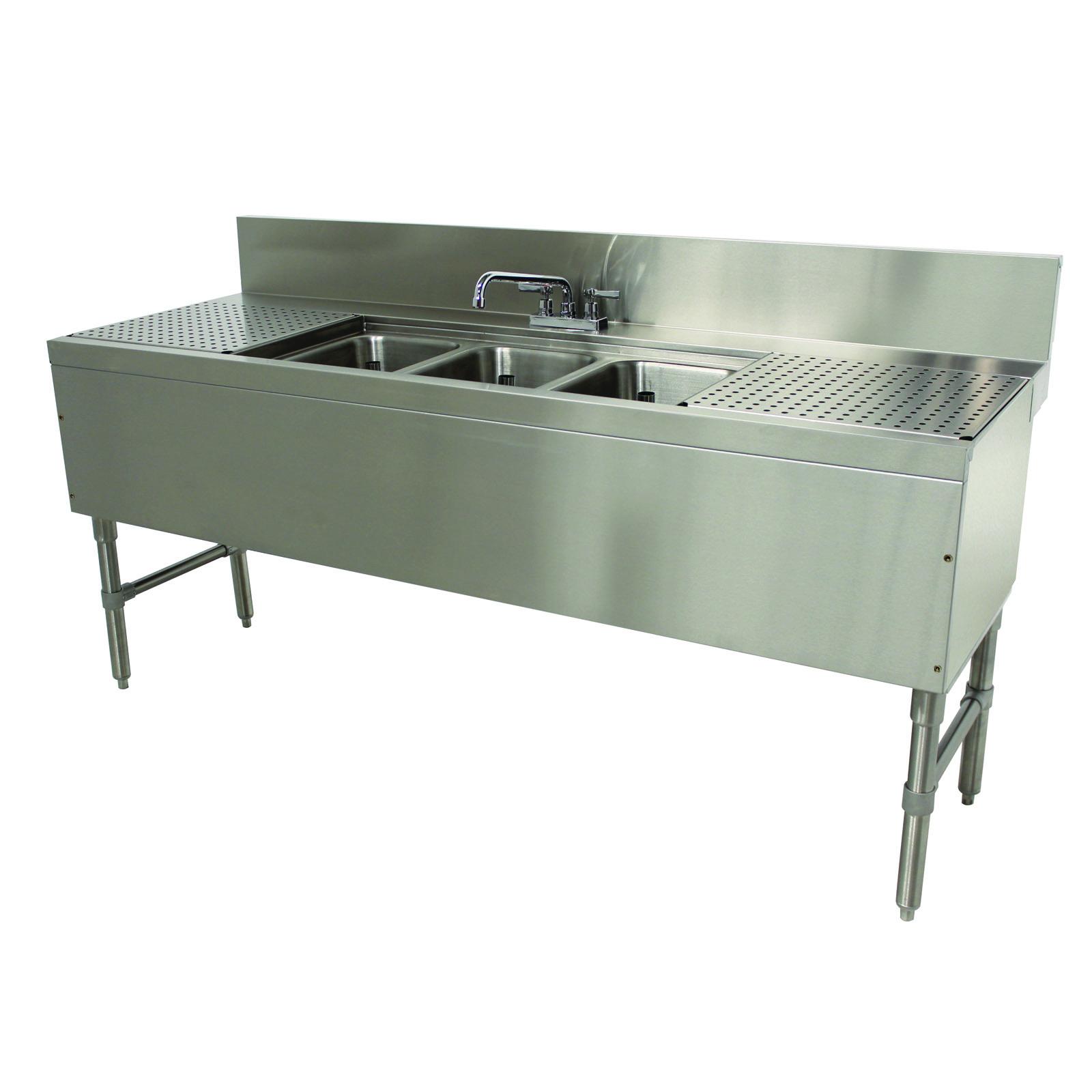 Advance Tabco PRB-24-63C underbar sink units