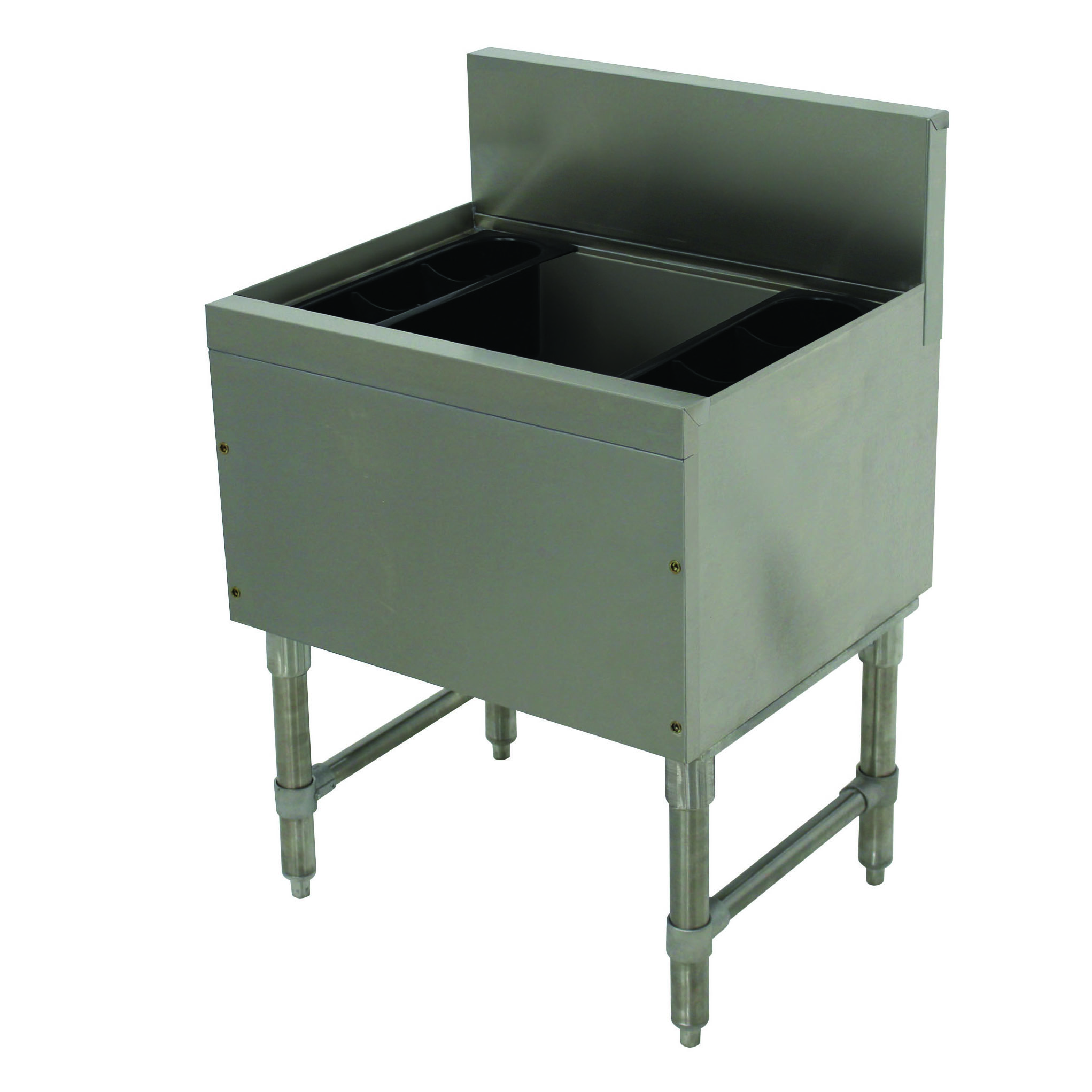 Advance Tabco PRI-19-30-10-XD underbar ice bin/cocktail unit