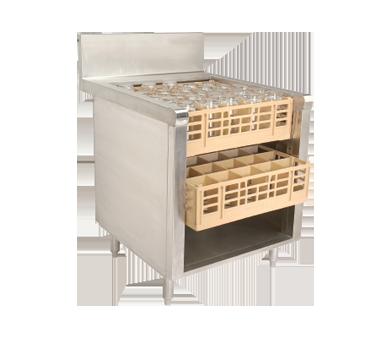 Advance Tabco PROR-24-24 underbar glass rack storage unit