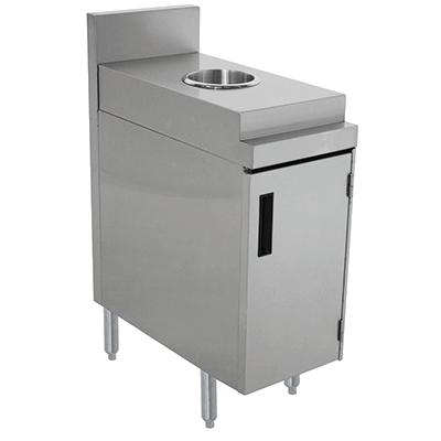 Advance Tabco PRSJT-12-DR trash receptacle, cabinet style