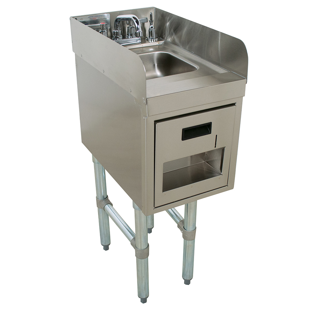 Advance Tabco SC-15-TS-S underbar hand sink unit