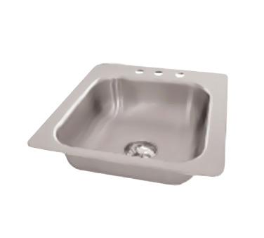 Advance Tabco SS-1-1719-10 sink, drop-in