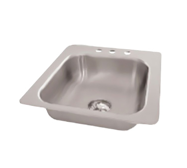 Advance Tabco SS-1-1919-10 sink, drop-in