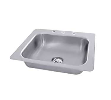 Advance Tabco SS-1-2321-7 sink, drop-in