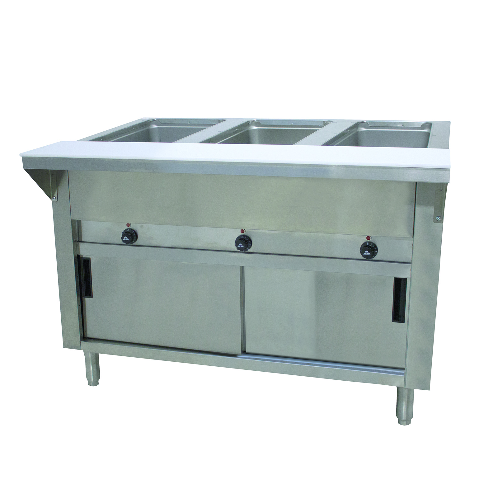 Advance Tabco SW-3E-240-DR serving counter, hot food, electric