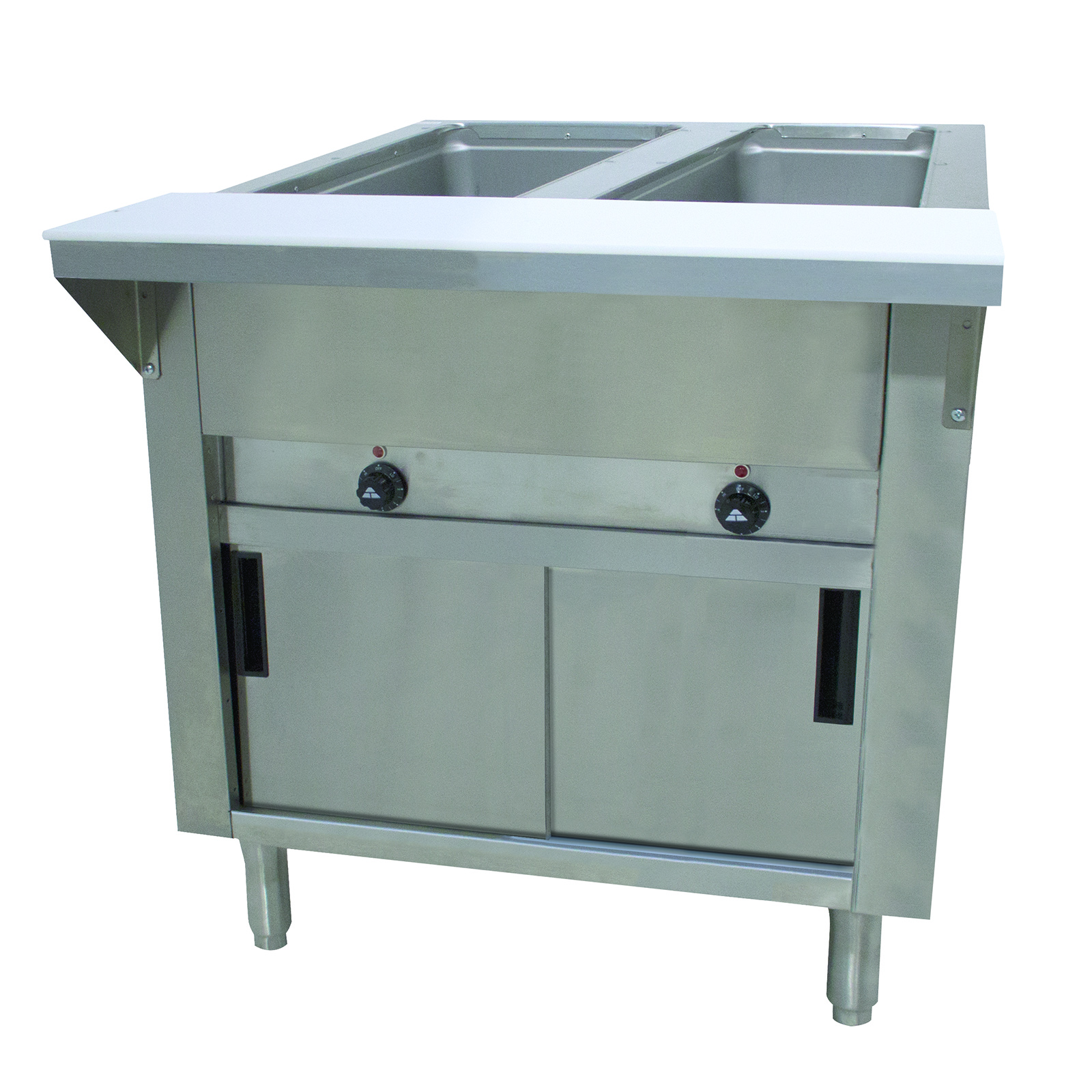 Advance Tabco SW-4E-120-DR serving counter, hot food, electric