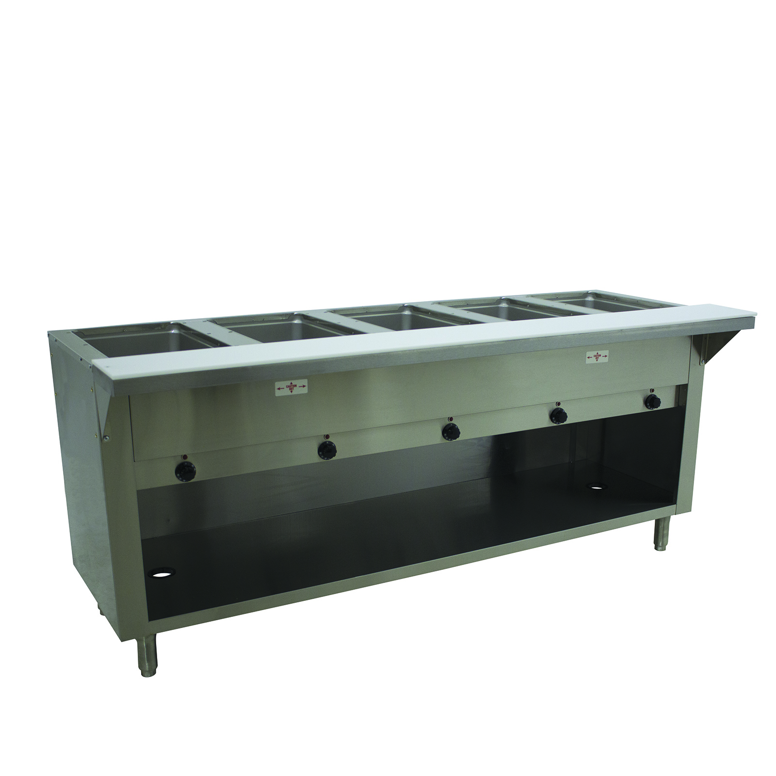 Advance Tabco SW-5E-240-BS serving counter, hot food, electric
