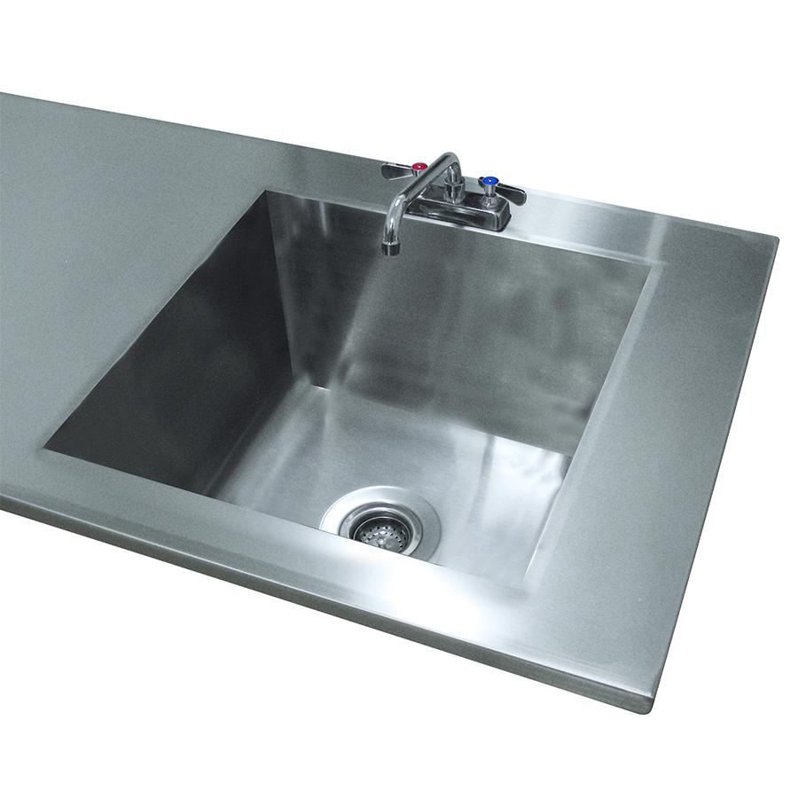 Advance Tabco TA-11F sink bowl, weld-in / undermount