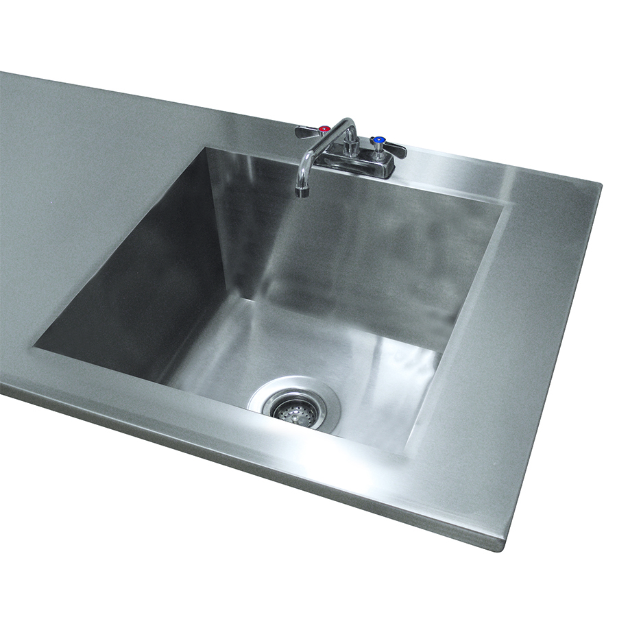 Advance Tabco TA-11N sink bowl, weld-in / undermount