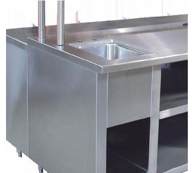 Advance Tabco TA-92 sink apron