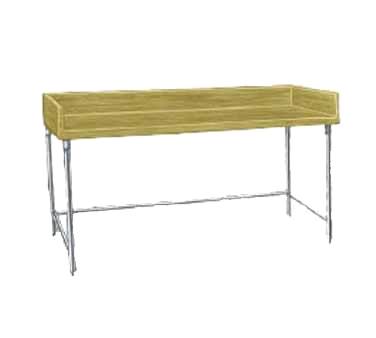 Advance Tabco TBS-364 work table, bakers top