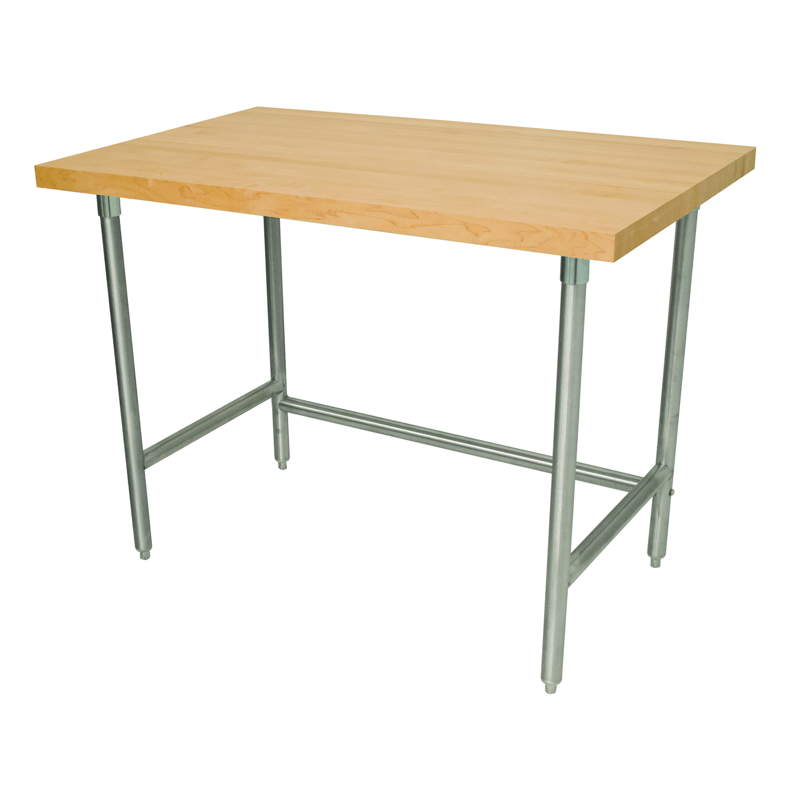 Advance Tabco TH2S-247 work table, wood top