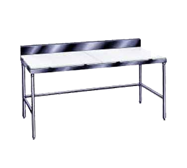 Advance Tabco TSPS-247 work table, poly top