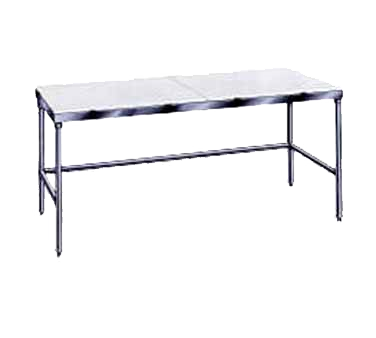 Advance Tabco TSPT-249 work table, poly top