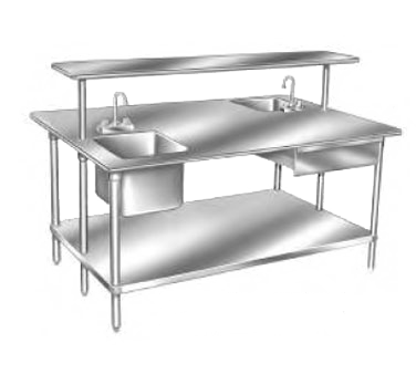 Advance Tabco TSS-4810 work table, 109