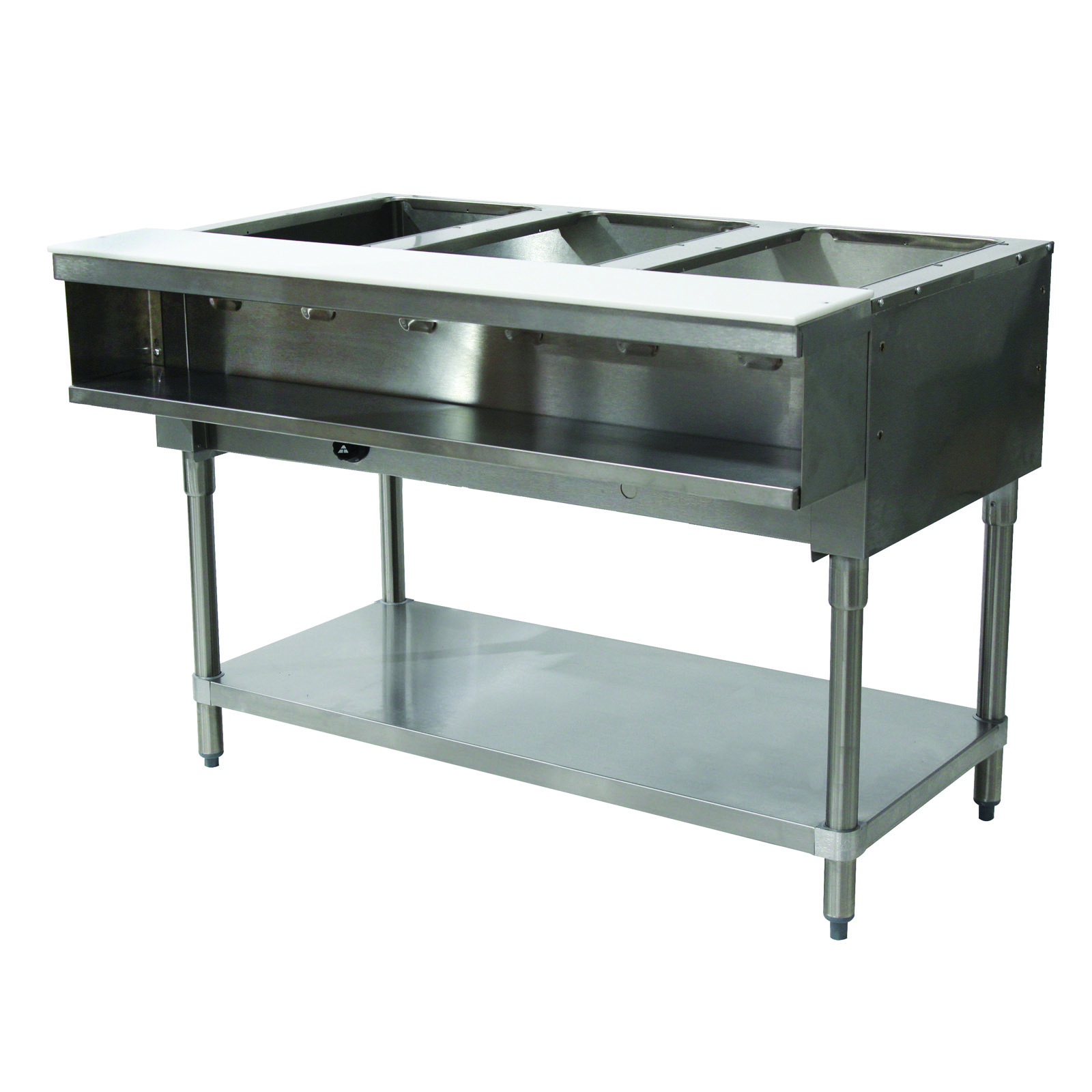 Advance Tabco WB-3G-LP serving counter, hot food, gas