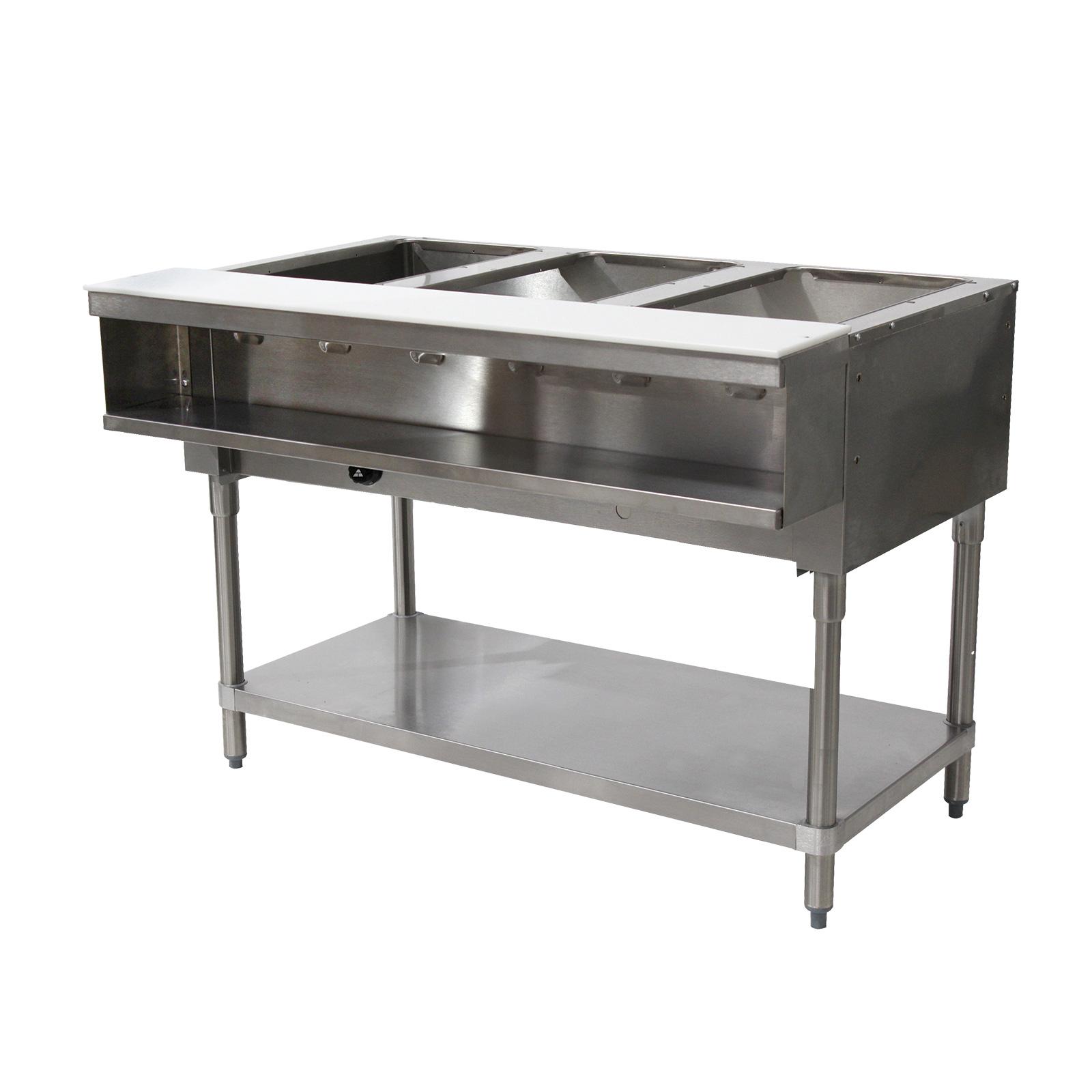 Advance Tabco WB-3G-NAT-X serving counter, hot food, gas