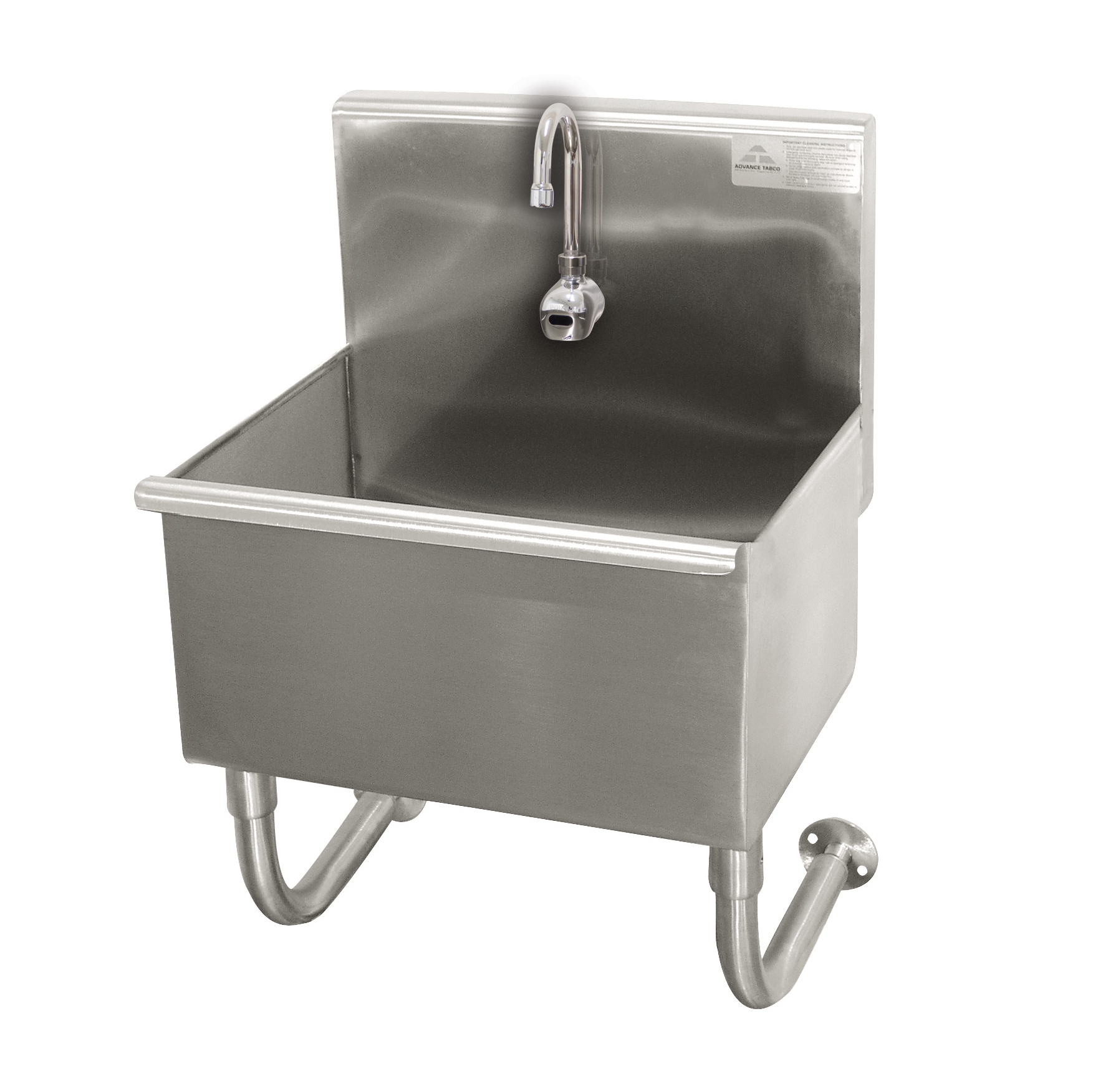 Advance Tabco WSS-14-21EF sink, hand