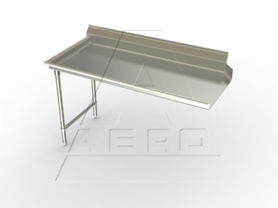 2CD-L-24 AERO Manufacturing dishtable, clean straight