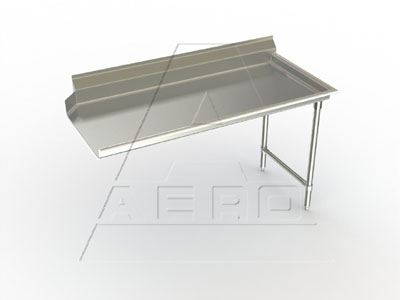2CD-R-48 AERO Manufacturing dishtable, clean straight