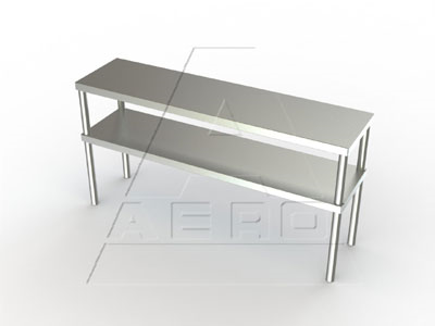 2DO-18144 AERO Manufacturing overshelf, table-mounted