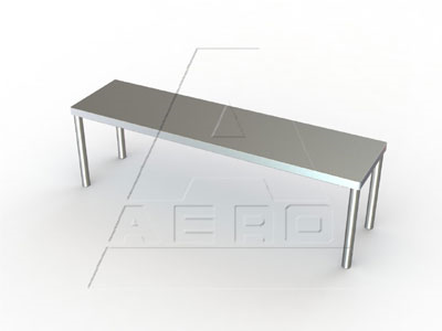 3O-1872 AERO Manufacturing 3O-1872 overshelf, table-mounted