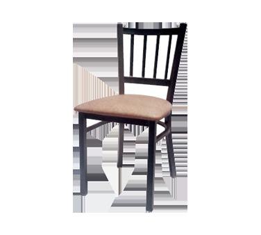 AAA Furniture Wholesale 309 BVS-BLK chair, side, indoor