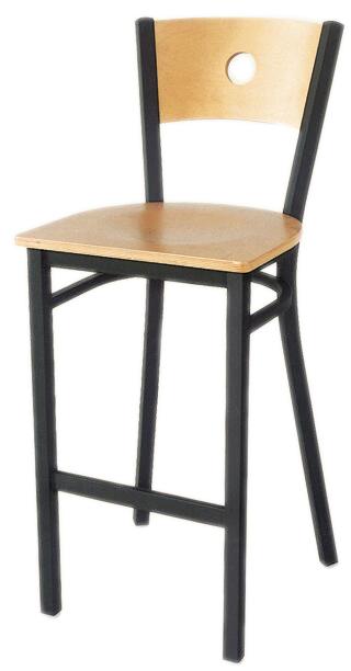 AAA Furniture Wholesale 315BS/CIRCLE BVS bar stool, indoor