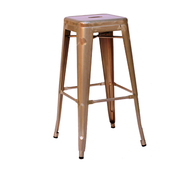 AAA Furniture Wholesale 318BS-BCKLSS-GLV bar stool, stacking, outdoor