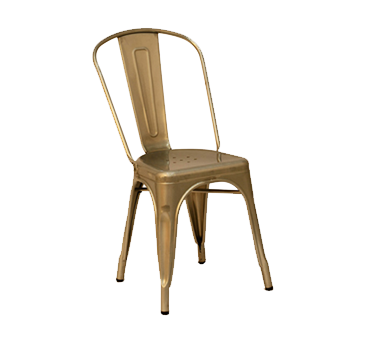 AAA Furniture Wholesale 318-GLV chair, side, stacking, outdoor