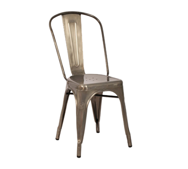 AAA Furniture Wholesale 318-GMT chair, side, stacking, outdoor