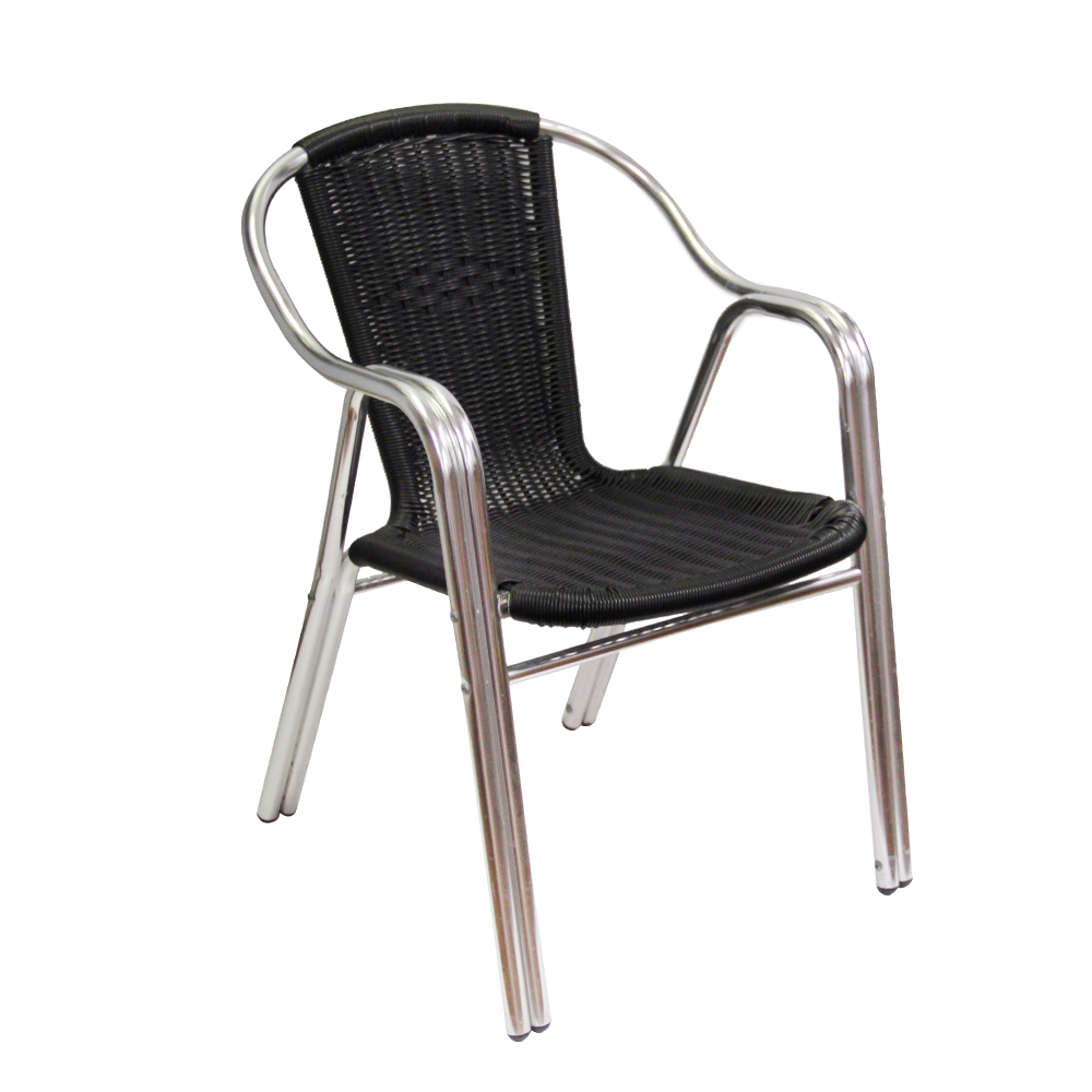 AAA Furniture Wholesale AL-C/BLACK chair, armchair, outdoor