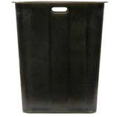 AAA Furniture Wholesale BLK TRASH LINER NEW trash receptacle rigid liner