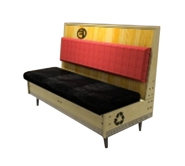 AAA Furniture Wholesale FB42D-DUCE GR6 booth