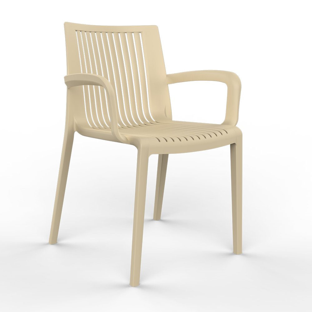 AAA Furniture Wholesale FLORENCE/SAND chair, armchair, outdoor