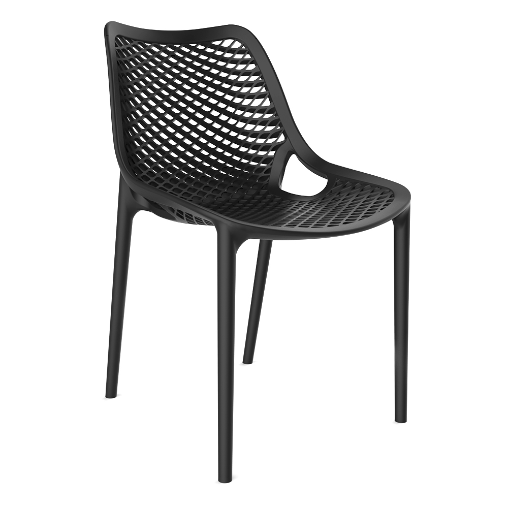 AAA Furniture Wholesale SPRIG/BLACK chair, side, outdoor