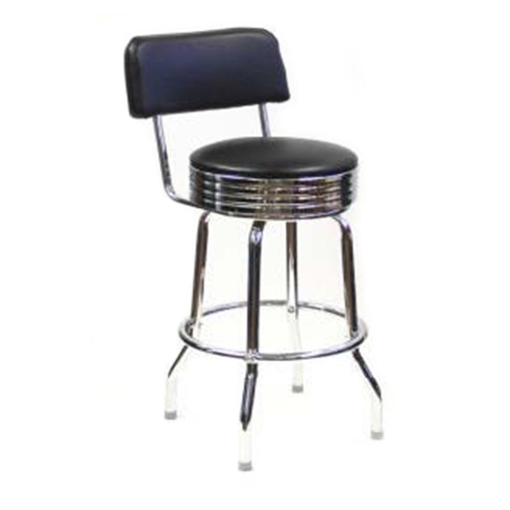 AAA Furniture Wholesale SRB/BACK BAND bar stool, indoor