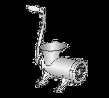 Alfa International 22 HFG meat grinder, manual