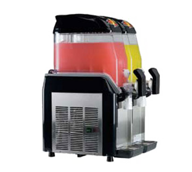 Alfa International AFCM-2 frozen drink machine, non-carbonated, bowl type