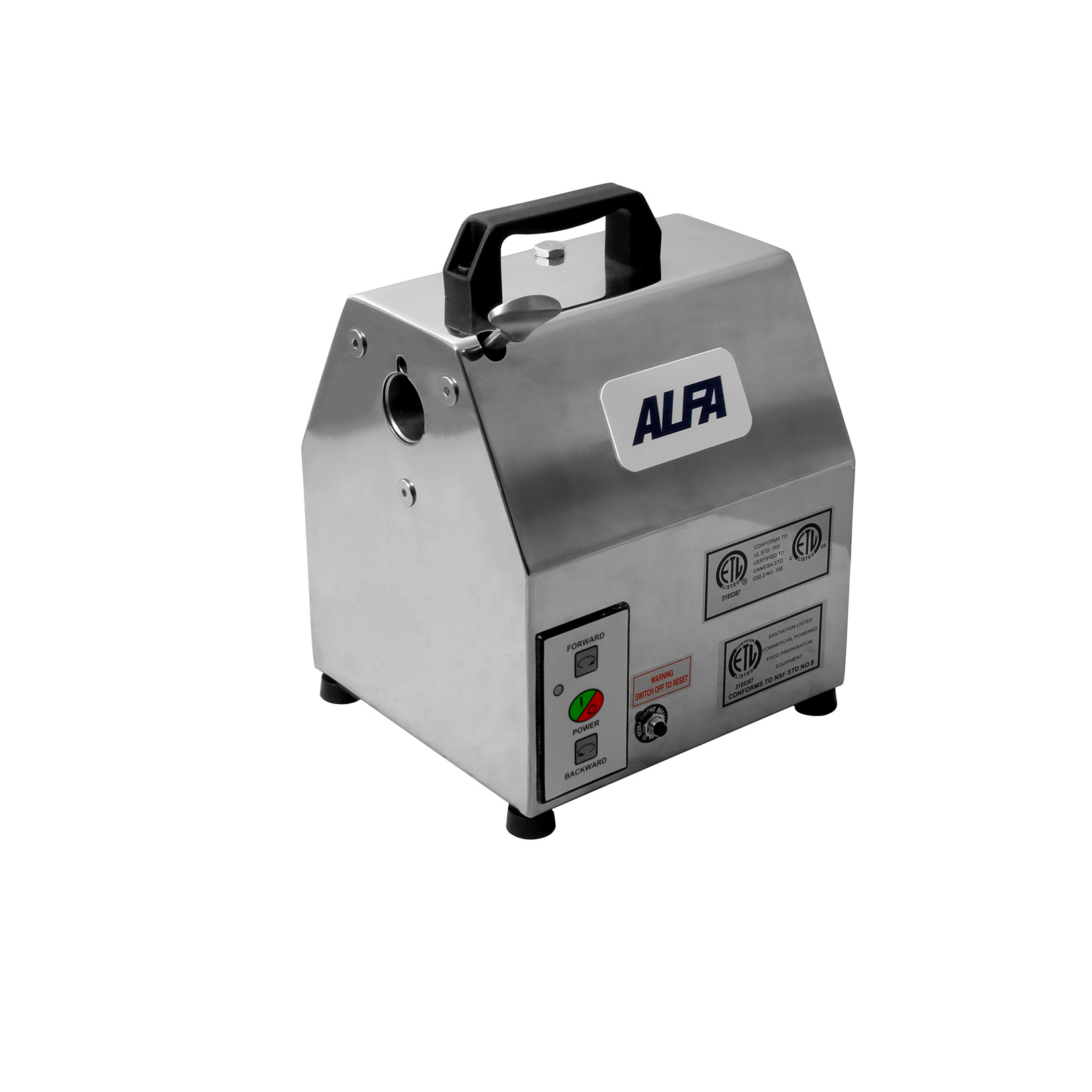 Alfa International APB-12 drive unit, shredder slicer
